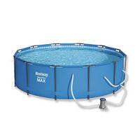 Каркасный бассейн Bestway 56260 (366x100) с картриджным фильтром
