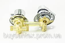 Змішувач душової кабіни (G-4 \ 10) вбудовується на чотири положення під гайку. (Оригінал), фото 3
