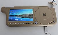Авто DVD ТВ козырек солнцезащитный 7+USB+DVD