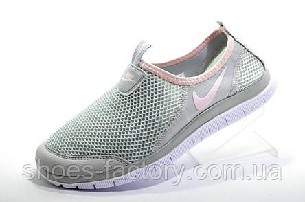 Женские кроссовки в стиле Nike Free Run 3.0, в сеточку (Slip On), фото 2