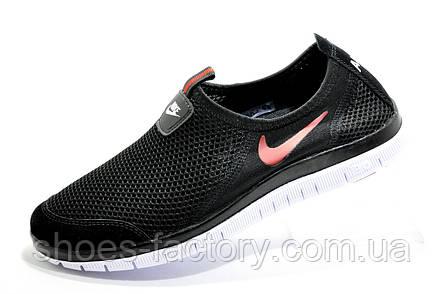 Летние кроссовки в стиле Nike Free Run 3.0, в сеточку (Slip On), фото 2