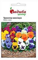 Семена фиалки Триколор Максимум F2 смесь 0,05 г, Hem Zaden