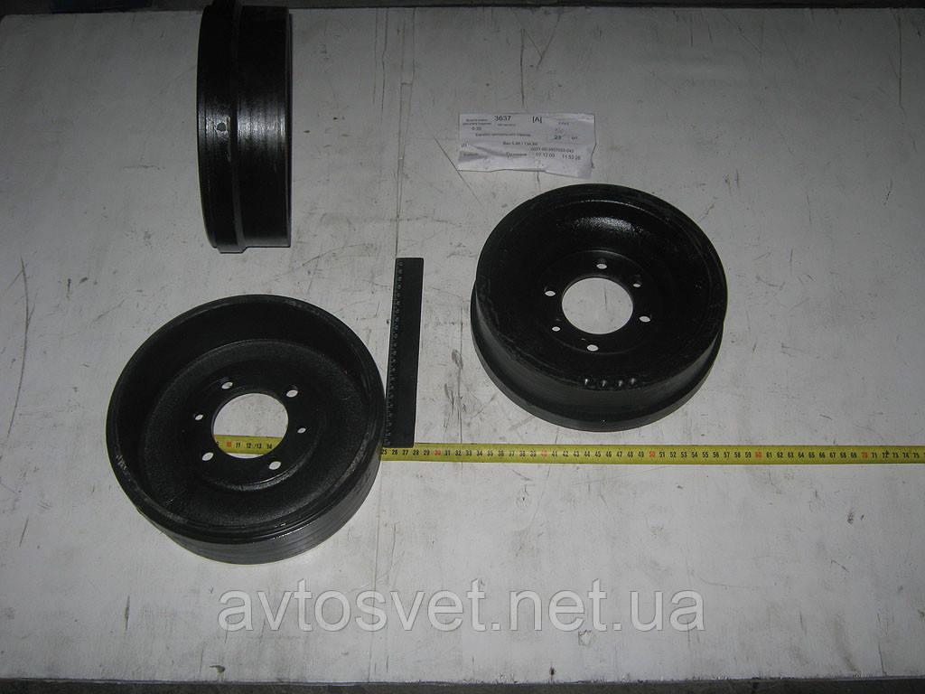 Барабан гальмівний ГАЗ 53,66 стояночн. (виробник ГАЗ) 51-3507052-Г2
