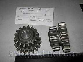 Блок шестерен КПП заднего хода ГАЗ 53 (производитель ГАЗ) 52-1701080-22