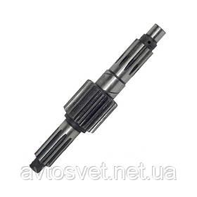 Вал вторинний КПП ГАЗ 53 не в зборі (виробник ГАЗ) 53-12-1701101