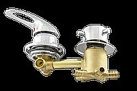 Змішувач душової кабіни (S5120P) вбудовується на п'ять положення під штуцер. (Оригінал)