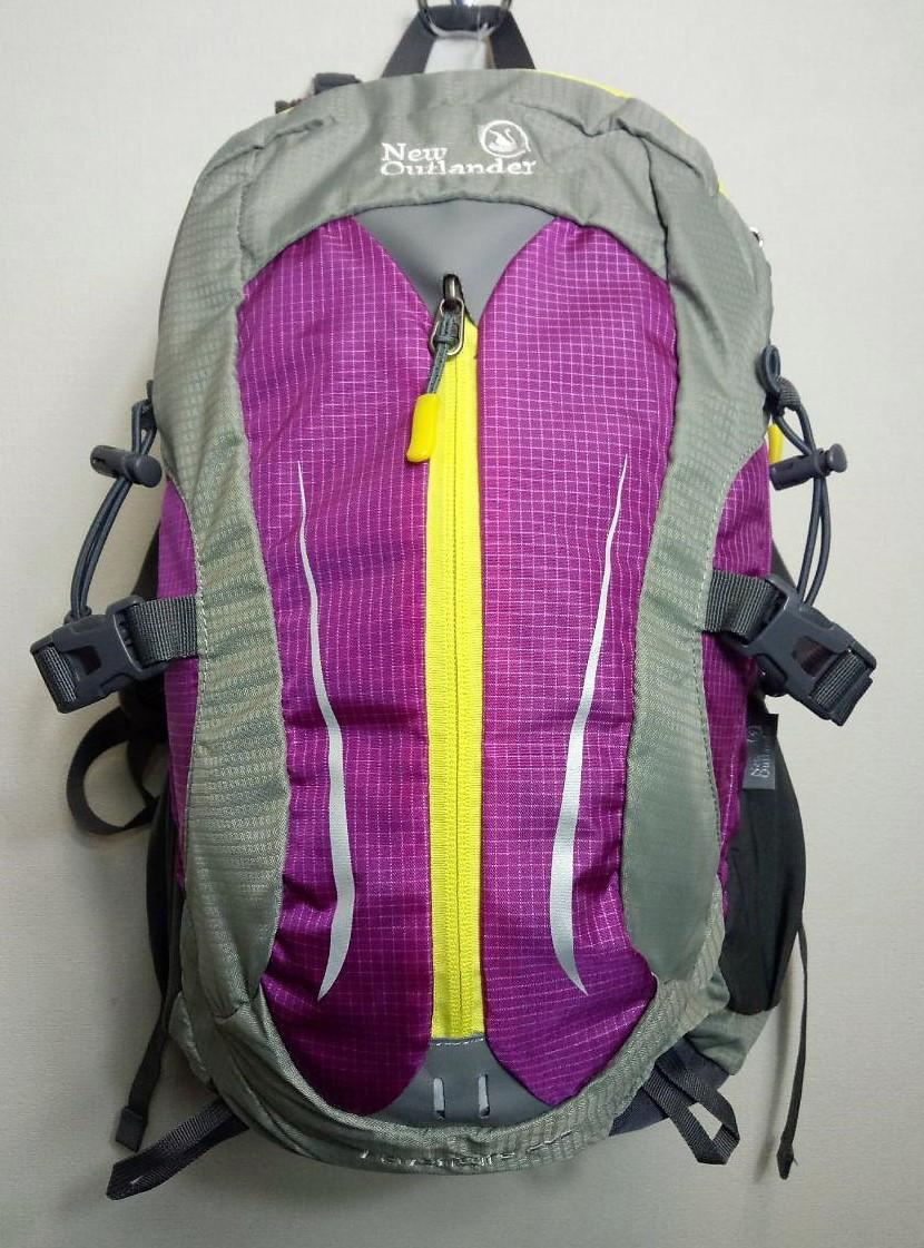 Рюкзак туристический, велорюкзак 30 л New Outlander-фиолетовый(AV 2233)