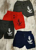 Детские шорты для мальчиков 3-6 лет