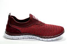 Кроссовки женские в стиле Nike Free Run 3.0, Бордо (Летние), фото 2