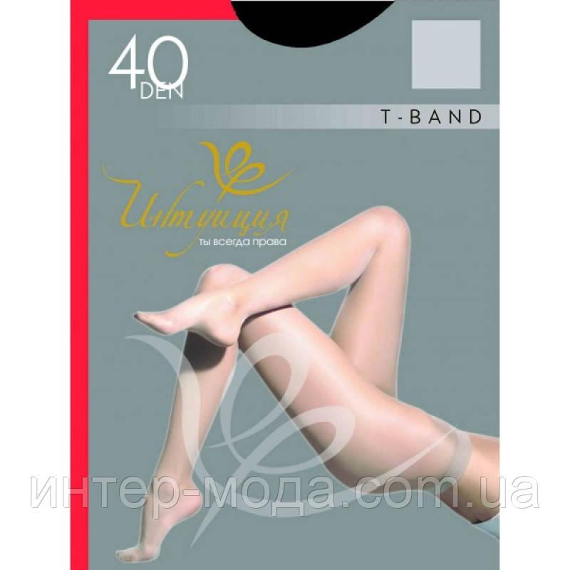"T-BAND 40 den ( «р. 3» черный ) ТМ «Интуиция"""