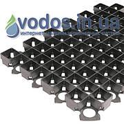 Решетка газонная пластиковая РГ-60.40.3,8 черная