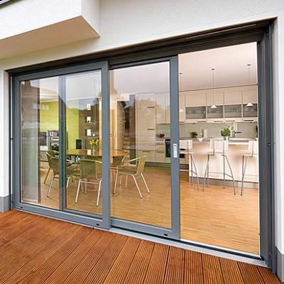 Теплые алюминиевые раздвижные окна, фото 2
