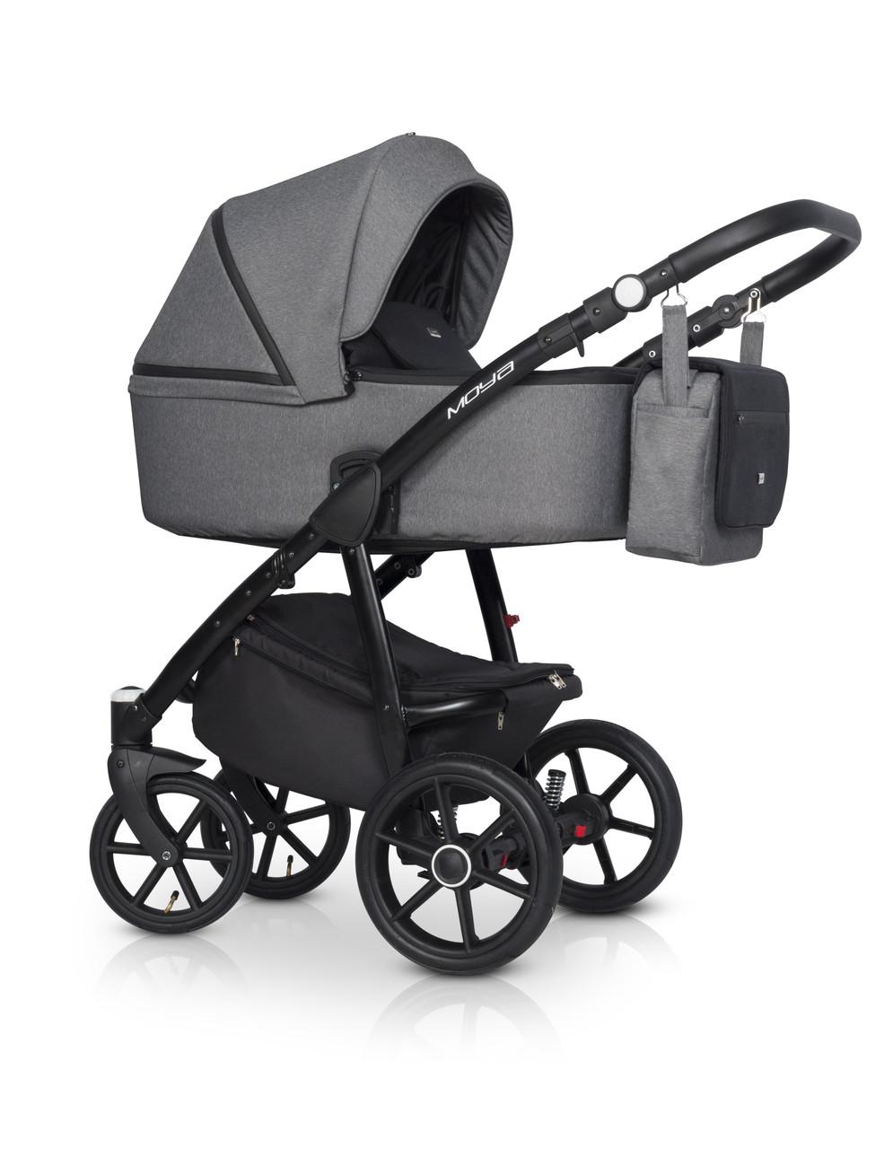 Детская универсальная коляска 2 в 1 Expander Moya 04 Antracite