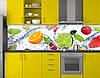 Кухонный фартук в рулонах, самофиксирующися на скотч 3М, заменитель стекла 62х205 см (под заказ любой размер), фото 4