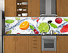 Кухонный фартук в рулонах, самофиксирующися на скотч 3М, заменитель стекла 62х205 см (под заказ любой размер), фото 6