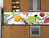 Кухонный фартук, заменитель стекла 62х205 см (под заказ любой размер), фото 6