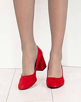 Туфли женские красные, фото 1