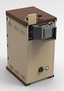 Твердотопливный котел Атем Житомир АКТВ-22 с плитой, фото 2