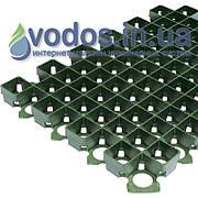 Решетка газонная пластиковая РГ-60.40.3,8 зеленая