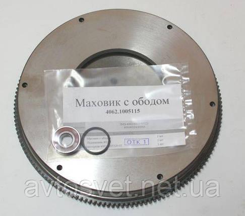 Маховик з ободом (4062.1005115) дв. 4062 (виробник ЗМЗ), фото 2