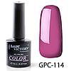 Цветной гель-лак Lady Victory GPC-114, 7.3 мл