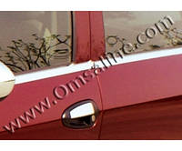 Молдинг стекла (оконтовка окна) Fiat Linea (фиат линеа), нерж