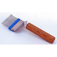 Вилка для распечатки сот с гнутой иголкой