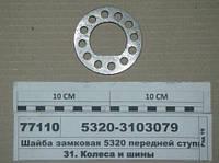 Шайба замковая передней ступицы (производитель КамАЗ) арт. 5320-3103079