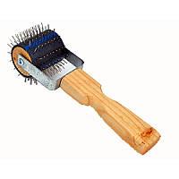 """Каток для распечатывания сот """"Ежик"""" деревянная ручка"""