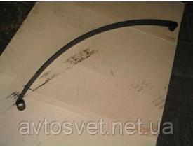 Лист рессоры №1 задний ГАЗ 24 L-1350 мм (производитель Чусовая) 24-2912101