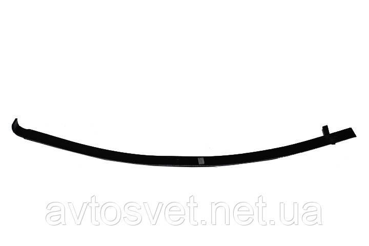 Лист ресори №2 передній (з вухом) (аналог 3302-2902102-02) ГАЗ 3302 2-х листової (Чусова) 3302-2902050-02