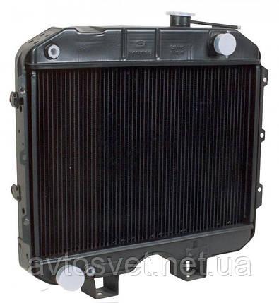 Радіатор водяного охолодження УАЗ (3-х рядний) (виробник ШААЗ) 3741-1301010-04, фото 2