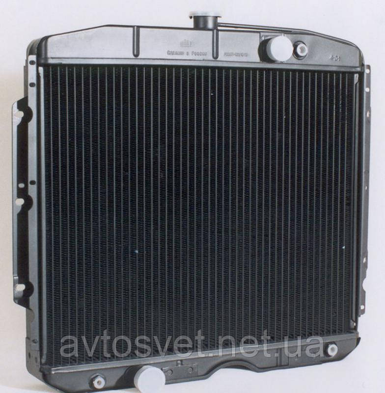 Радиатор водяного охлаждения ГАЗ-3307 3-х рядный (ШААЗ) 3307-1301010-70