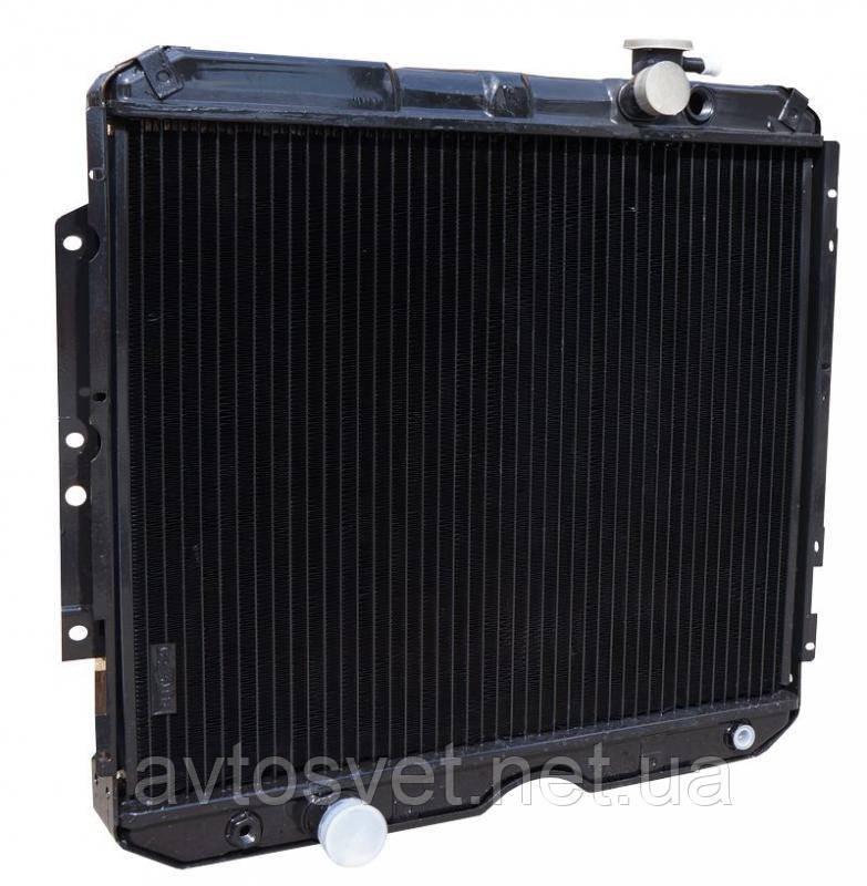 Радіатор водяного охолодження ГАЗ-3307 з дв. ММЗ Д245.7 , ГАЗ-3309 з дв. ММЗ Євро-3 3-х рядний (ШААЗ)