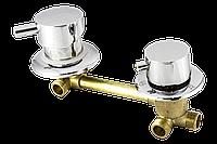 Змішувальний вузол для гідробоксу, душової кабіни на три положення ckl3100n (Оригінал).