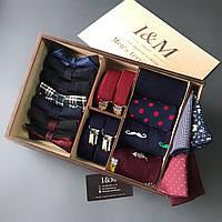 Подарочный бокс I&M Craft Men's territory 17 аксессуаров для мужчин (120105)