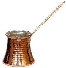 Турка (джезва) для кофе Sena 1 шт. медная 130 мл, фото 1