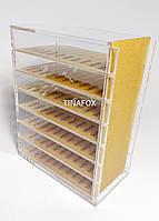 Лэшбокс прозрачный для хранения ресниц для наращивания