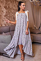 Платье-сарафан 12-1161 - серый: S-M, L-XL, XXL-3XL, фото 1