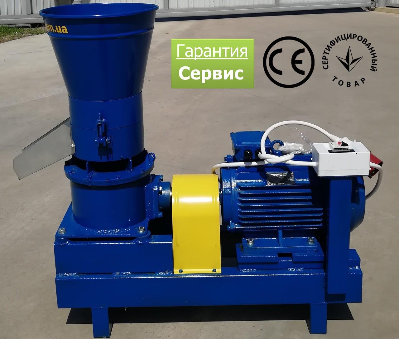 Гранулятор корма 380 В, 11 кВт, 1500 об/мин, рабочая часть