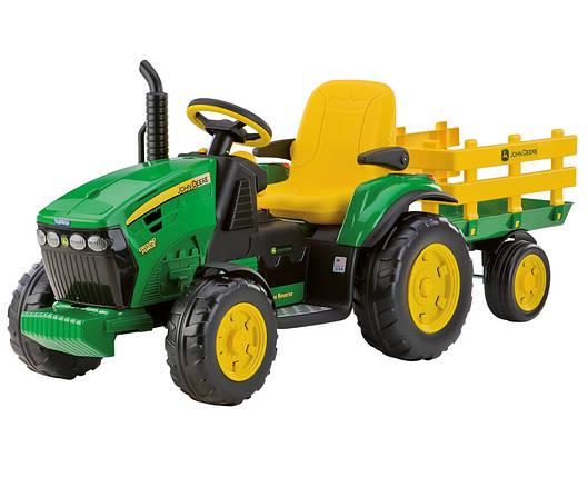 Детский трактор J.D. Ground Force traktor, детский электромобиль, фото 2