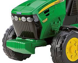 Детский трактор J.D. Ground Force traktor, детский электромобиль, фото 3