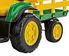 Детский трактор J.D. Ground Force traktor, детский электромобиль, фото 4