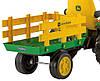 Детский трактор J.D. Ground Force traktor, детский электромобиль, фото 6