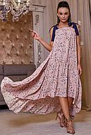 Платье-сарафан 12-1161 - персик: S-M, L-XL, XXL-3XL, фото 1