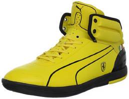 Стильные мужские кроссовки от ТМ Puma Ferrari, с антимикробными стельками, усиленными задниками, 41.5 размер