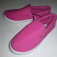 Мокасины детские розовые Primark (Англия) разм.25/26, 29, фото 1