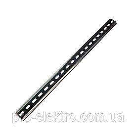 DIN рейка длинна 1метр. Толщина 1мм EH-DIN-1X1