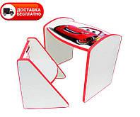 Комплект детский столик и детский стульчик DoDo СМ-4 Тачки