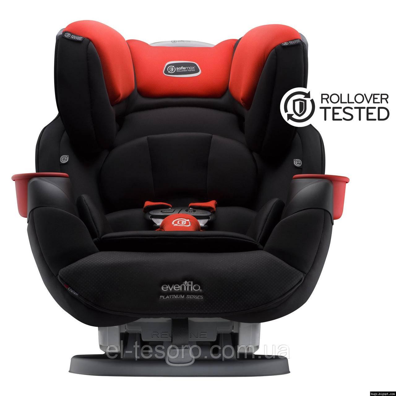 Evenflo® автокресло SafeMax Platinum цвет - Mason (группа от 2,2 до 49,8 кг)